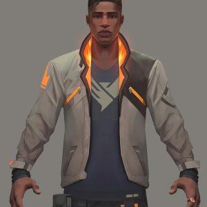 gaming-valorant-phoenix-leather-jacket