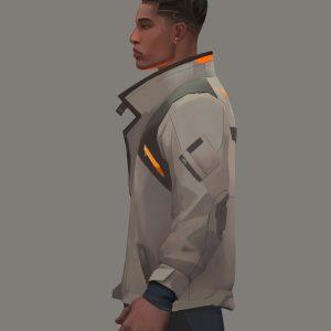 valorant-phoenix-gaming-leather-jacket