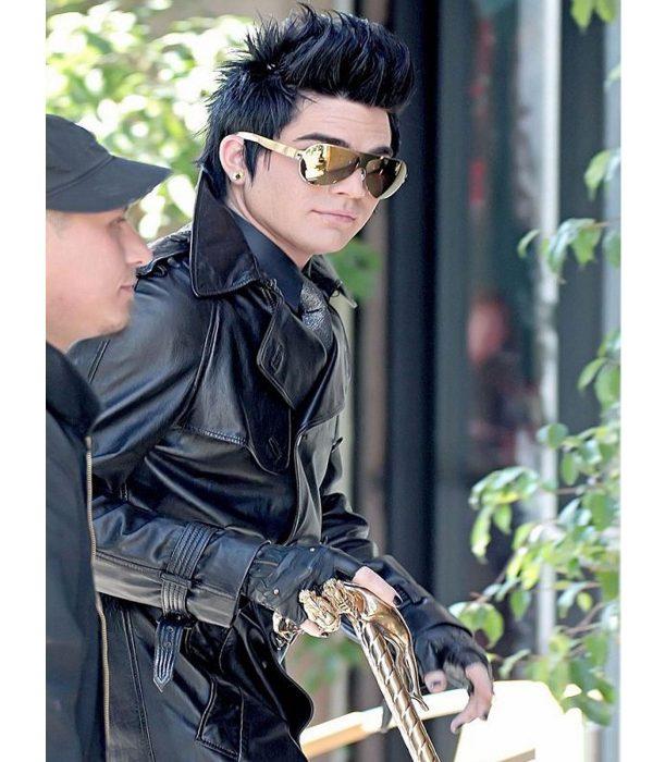 adam-lambert-black-leather-coat