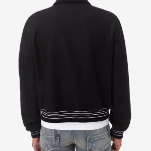 amiri-bone-black-letterman-jacket