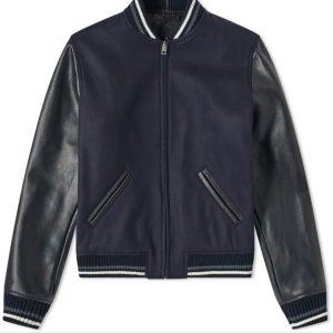 apc-copper-varsity-jacket