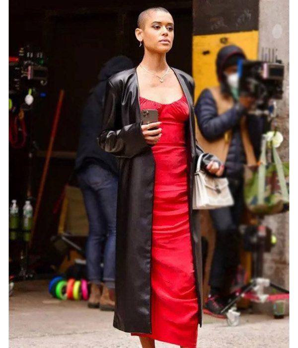 jordan-alexander-gossip-girl-black-leather-coat