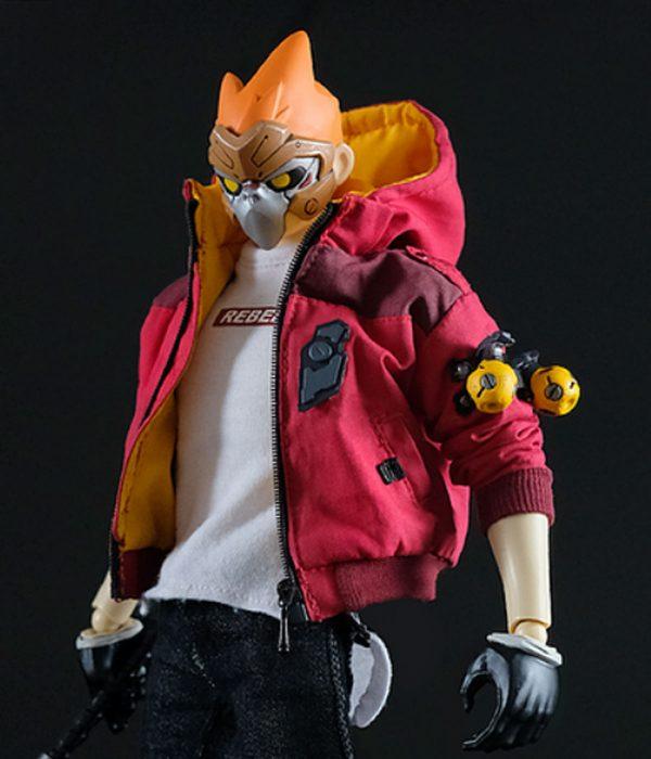 no-fear-no-mercy-goku-maroon-jacket