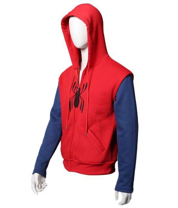 spiderman-red-hoodie