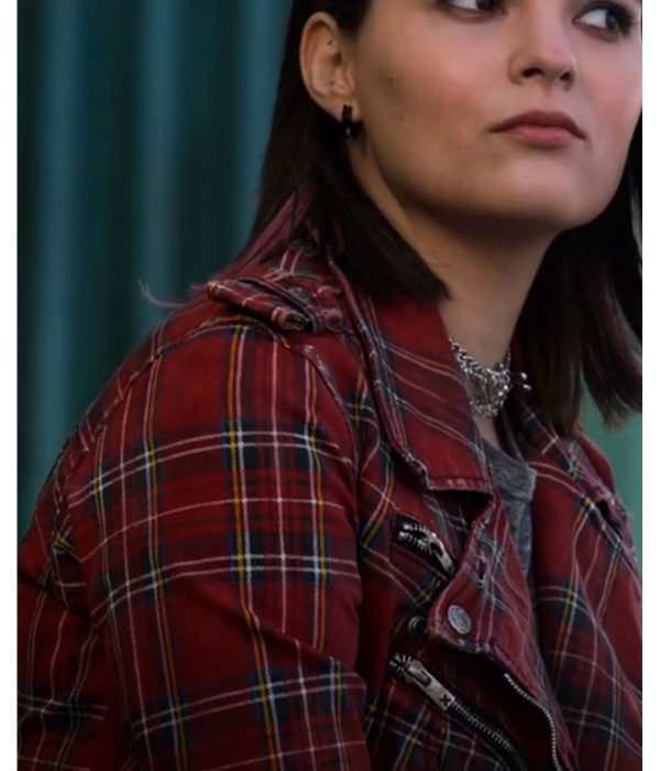 lucifer-brianna-hildebrand-plaid-moto-jacket