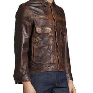 mens-brown-coffee-leather-jacket