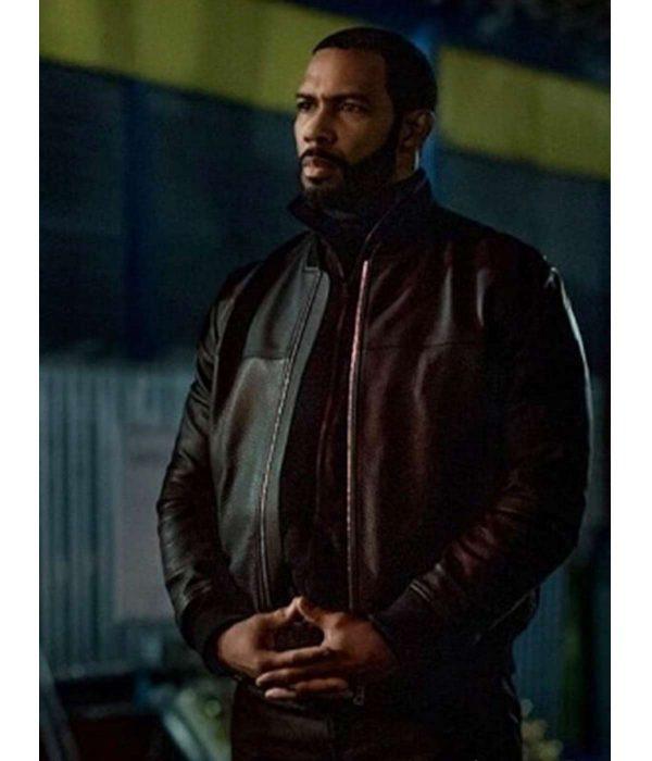 omari-hardwick-power-ghost-leather-jacket