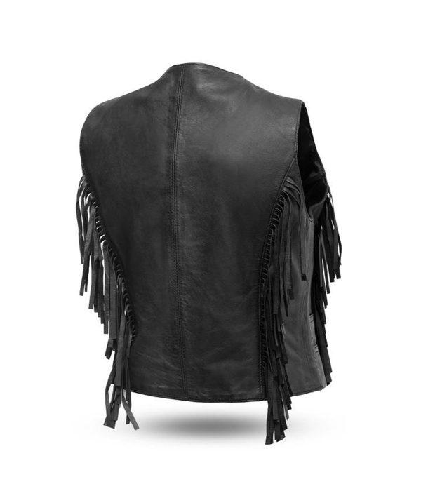 women's-fringe-motorcycle-leather-vest