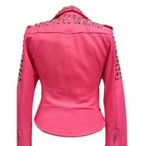 womens-pink-studded-jacket